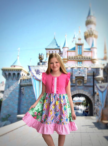 Flower Garden Princess dress