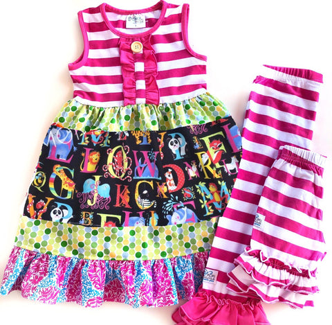 Alphabet Zoo remix dress