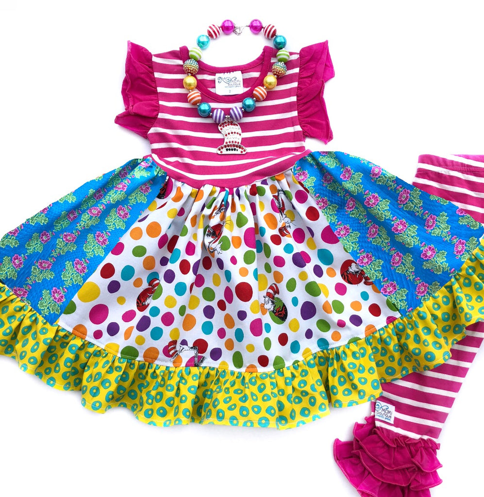 The Colorful Cat dress