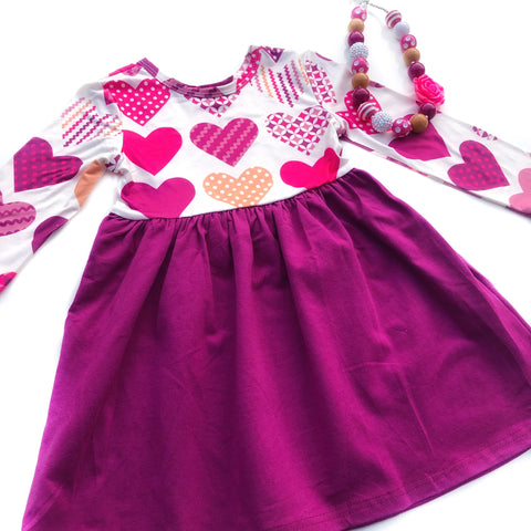 Plum Love dress