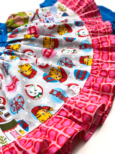 Daniel Tiger & Katerina Kittycat dress