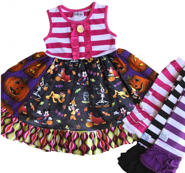 girl's Halloween disney outfit