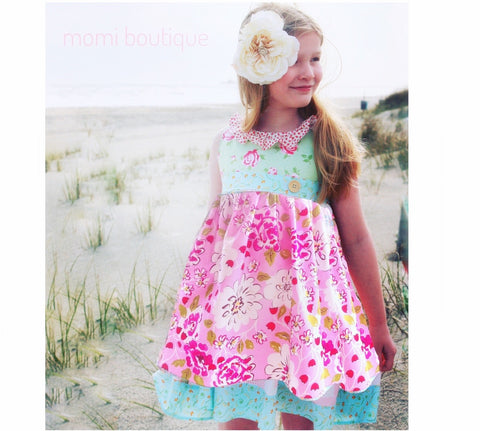 Penelope Pink Posie dress