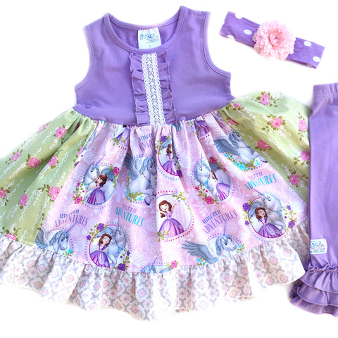 Sophia the first Unicorn dress