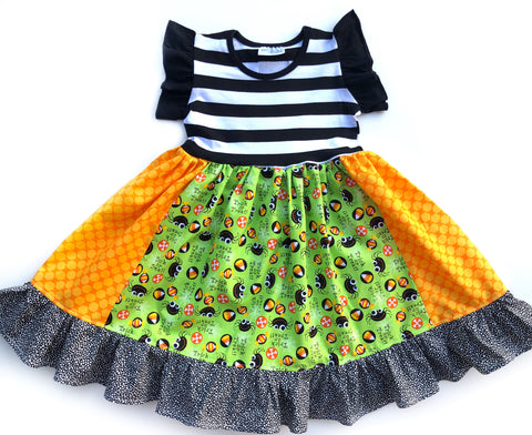 Itsy Bitsy Spider Halloween dress