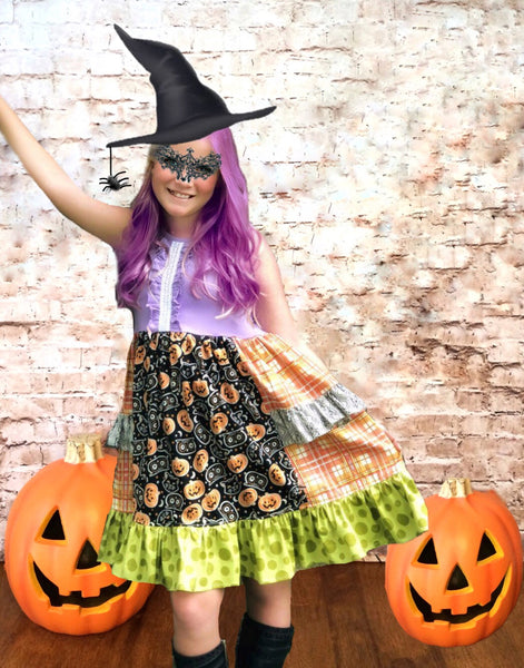 Halloween Festival Platinum party style Dress
