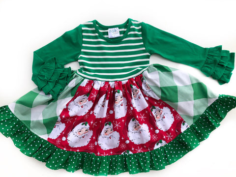 Doorbuster Santa Claus dress
