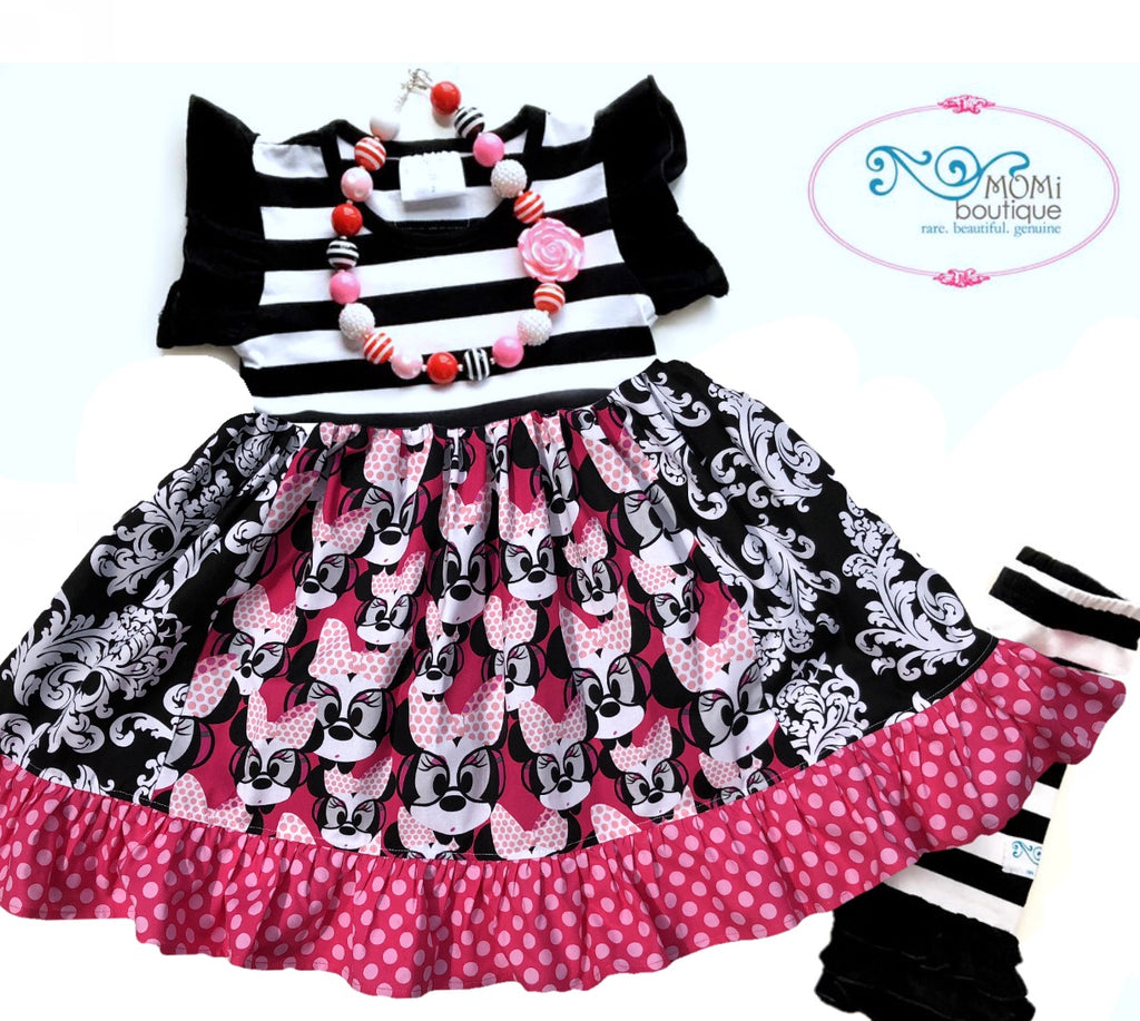 Pink Minnie dress