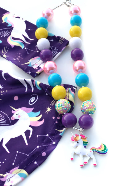 Celestial Unicorn necklace