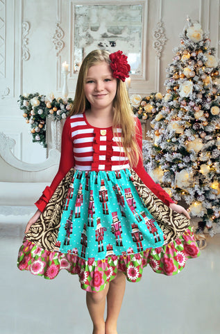 girls Nutcracker christmas dress