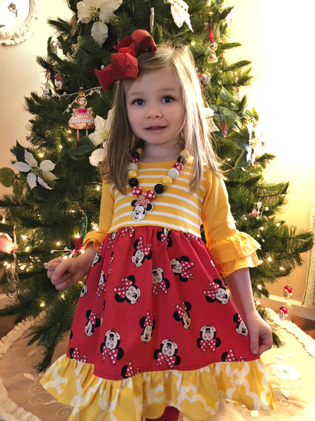 Doorbuster Minnie Mouse dress