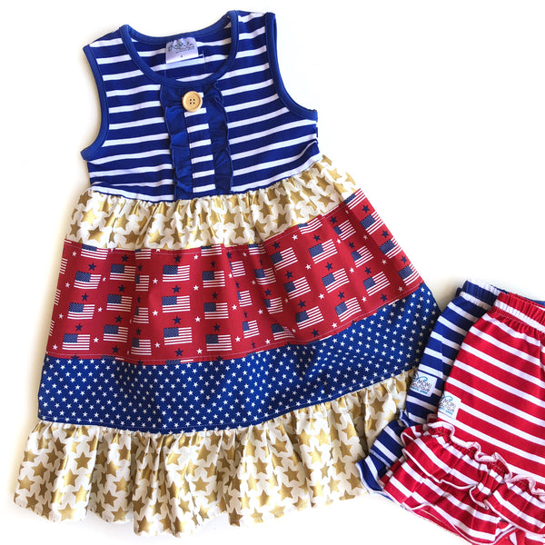 Stars & Stripes Flag dress