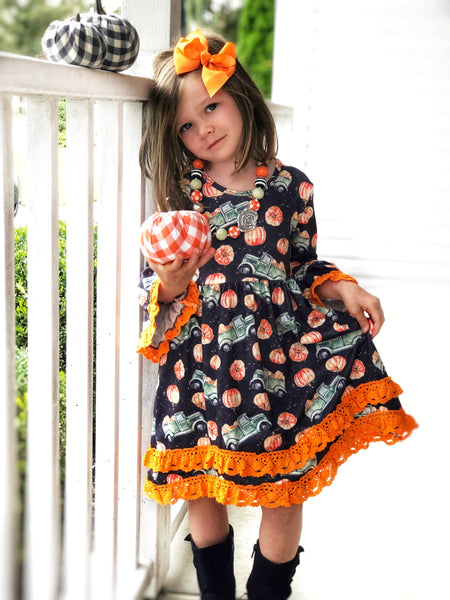 Farmhouse Pumpkin Harvest dress