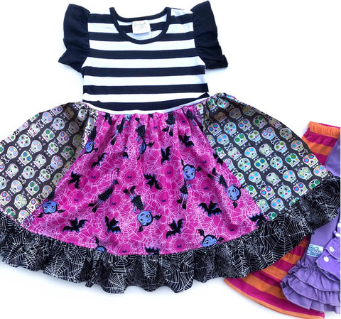 Vampirina Pink Web dress