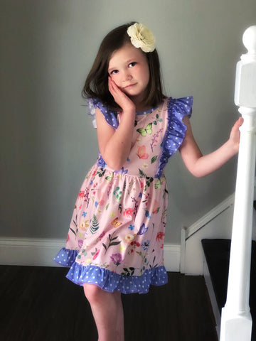 Sweet Butterfly Garden dress