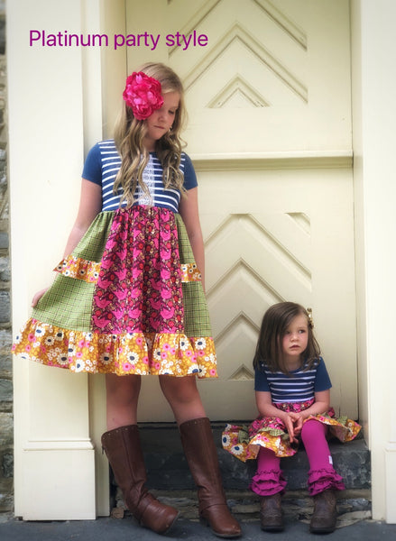 matching dresses for girls