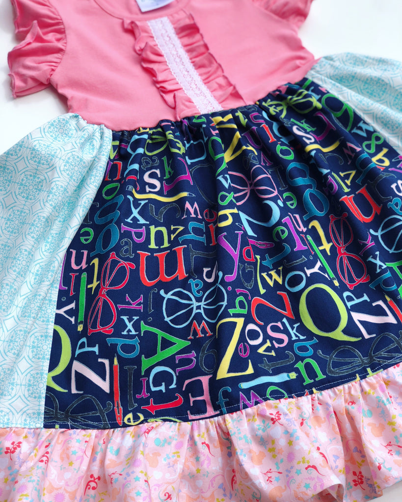 Pretty Little Letters dress