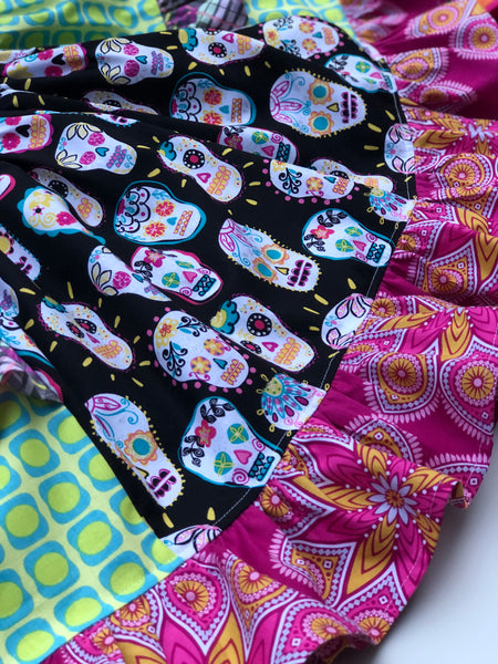 Sugar Skulls Platinum Party style dress