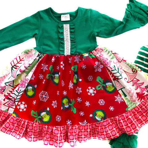 How the Grinch Stole Christmas dress