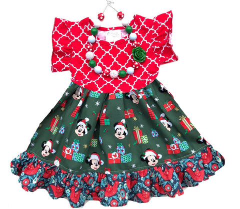 Doorbuster  Disney Christmas dress