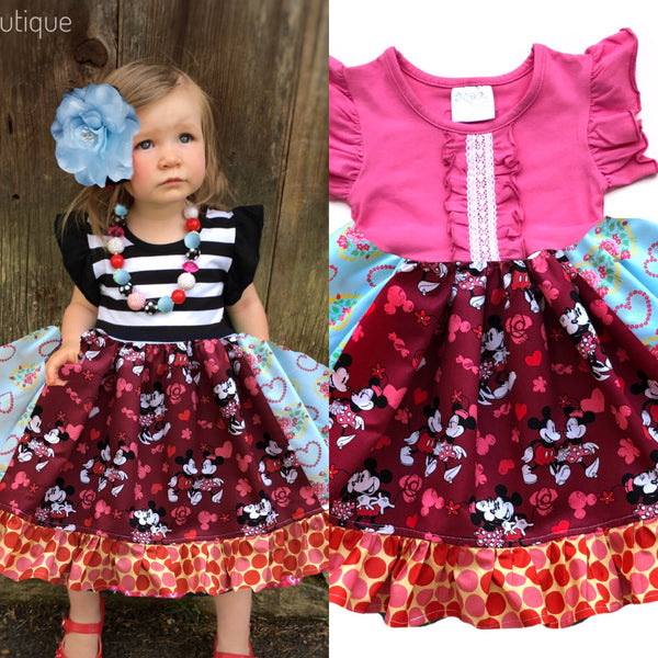 Disney Love Mickey & Minnie dress