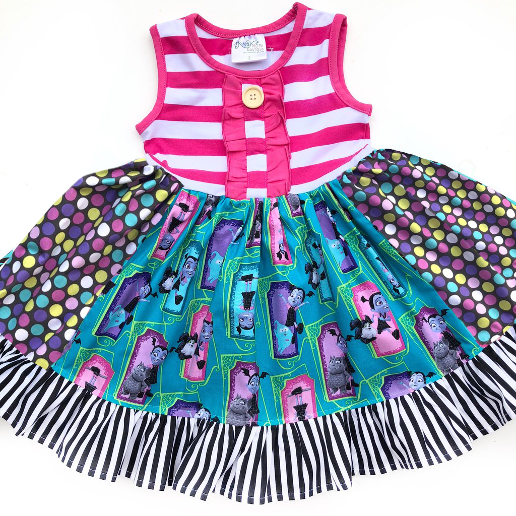 ee61f734532b Vampirina dress – Momi Boutique