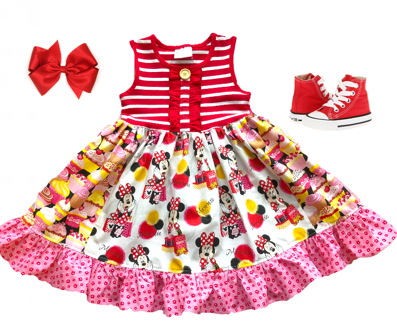 Minnie Mouse Birthday Celebration dress