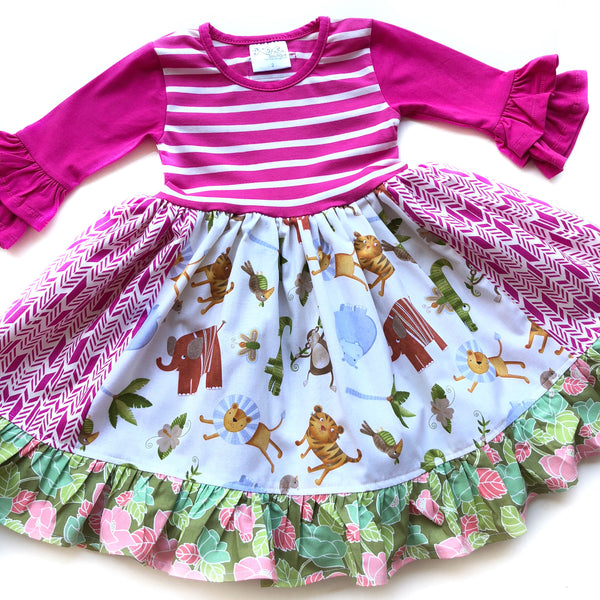 Animal Zoo dress