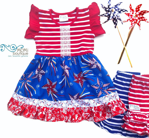 Patriotic Pinwheel Parade design
