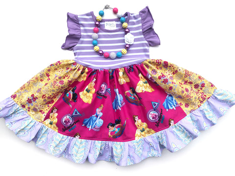 Adventurous Spirit Disney Princess dress