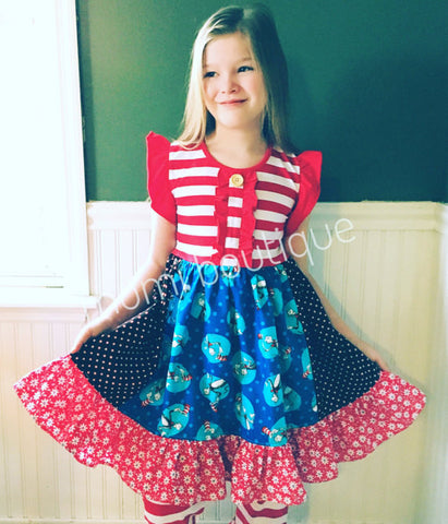 Cat in the Hat dress