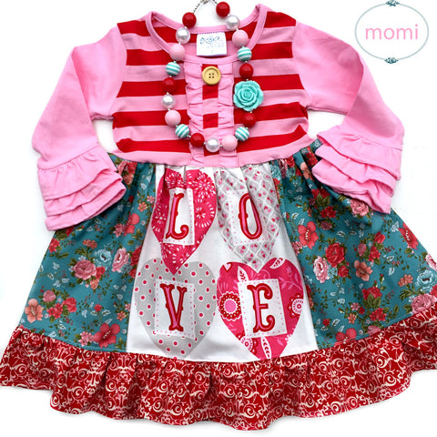 Love dress RTS sz 2/3