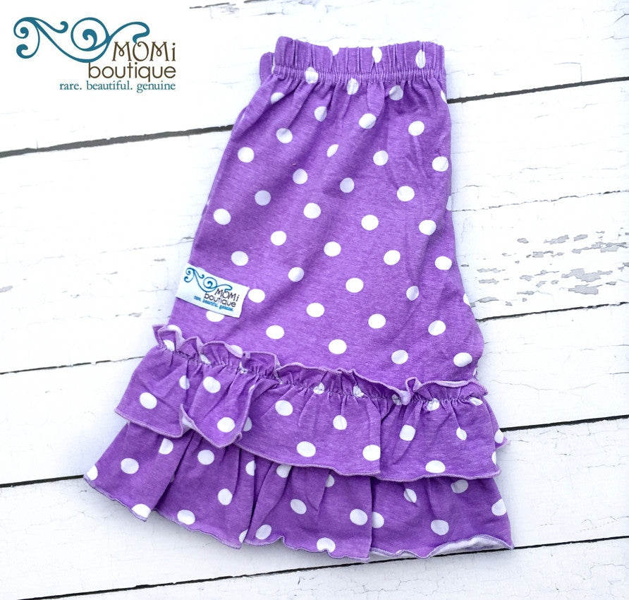 Grape Juice polka dot shorts