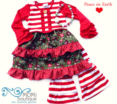 Peace on Earth dress