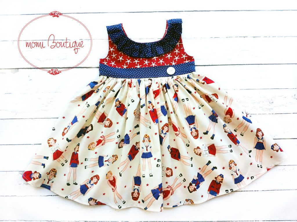 Penelope's Patriotic Parade dress