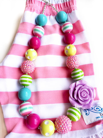 Pink & Preppy necklace