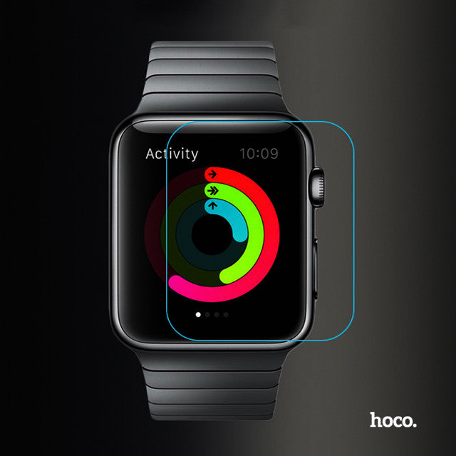 HOCO Tempered Glass for Applewatch Series 1, Series 2