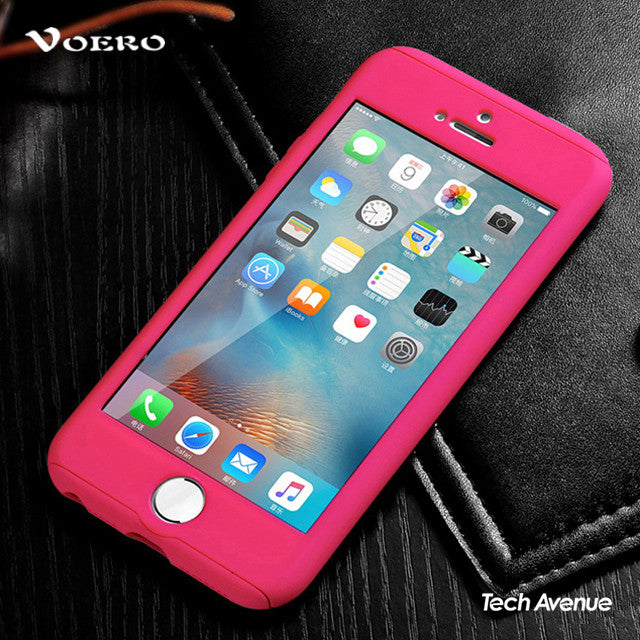 the latest f88f5 32994 [MIDYEARSALE] Voero - 360 Degree Protection Case (Solid Colors) - iPhone  5/5s/SE