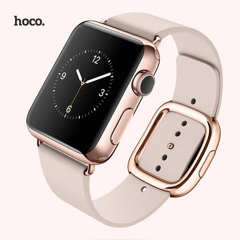 HOCO Modern Buckle, Leather Watchband for Applewatch