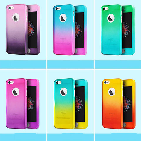 Voero - 360 Degree Protection Case (Gradient) - iPhone 5/5S/SE - Tech Avenue