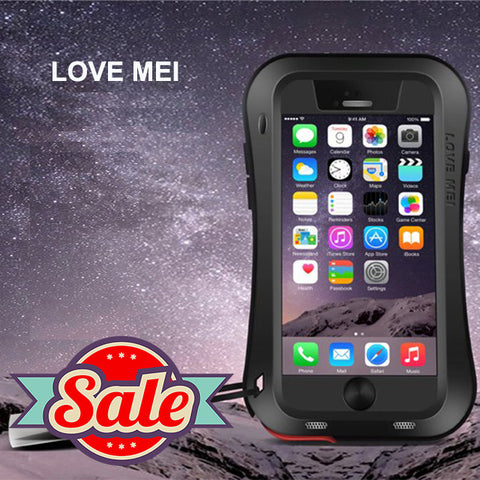 Lovemei Shockproof/Impact-proof/Splashproof Protective Case - iPhone 6 Plus/6S Plus