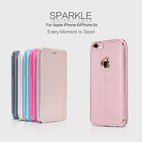 Nillkin Sparkle Series Leather Case - iPhone 6 Plus/6S Plus - Tech Avenue