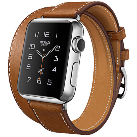 HOCO 3-in-1 Function, Genuine Leather Watchband for Applewatch