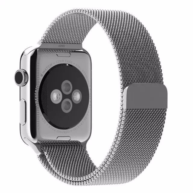 Silver Milanese Watchband for Applewatch