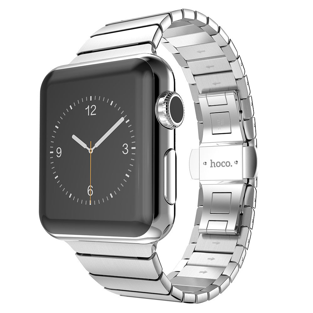 HOCO Stainless Steel 2 Pointers Metal Watchband for Applewatch - Tech Avenue