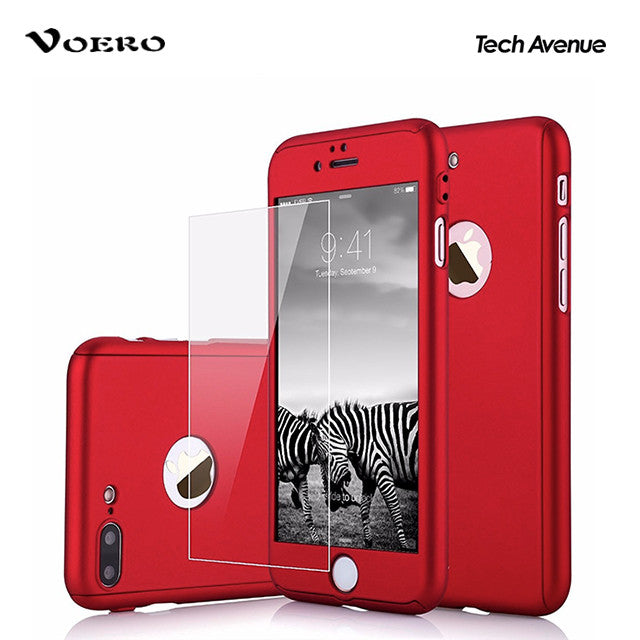 on sale 3e9d3 0d9ca [MIDYEARSALE] Voero - 360 Degree Protection Case (Solid Colors) - iPhone 7  Plus
