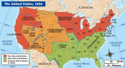 This Day In Minnesota History Minnesota Territory Is Formed - Us map 1850