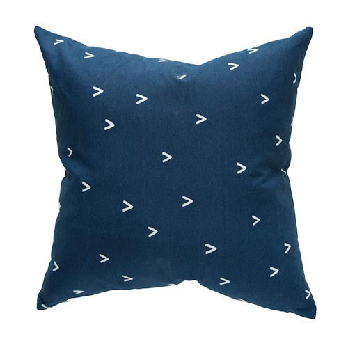 Arrow Cushion Navy
