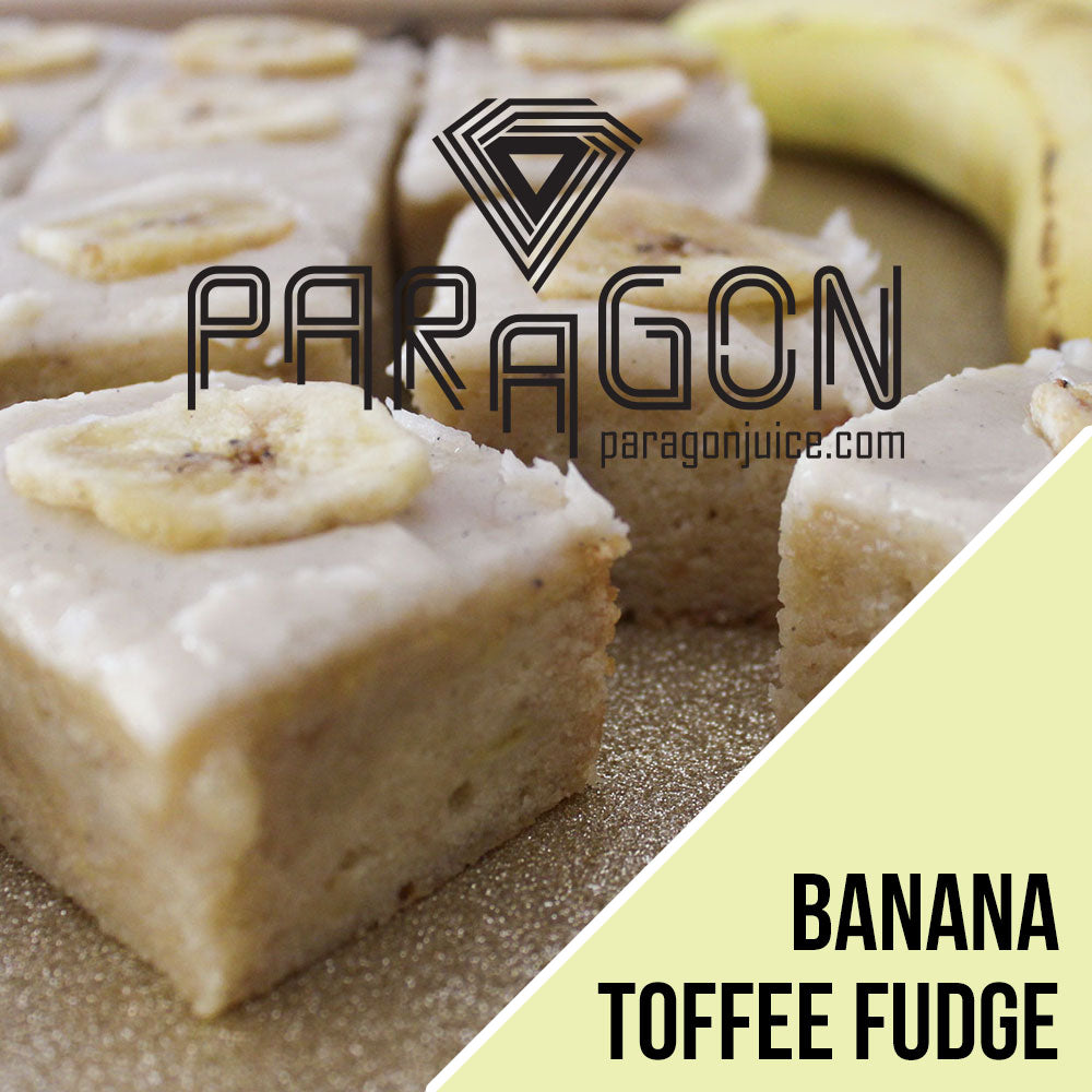 Banana Toffee Fudge - Paragonjuice