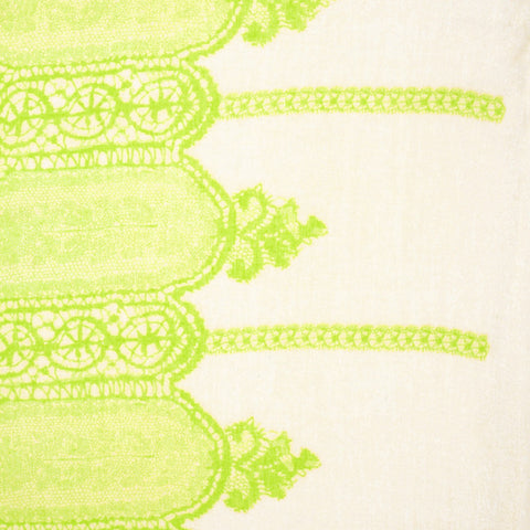 Womens Oblong Scarf Green